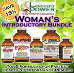 DISCOUNT BUNDLE: Woman's Results Intro (SAVE 15%) (*Everlasting Youth, Maca Bliss and Revival Formula SHIP WITHIN 1-2 MONTHS*)