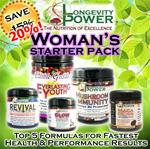 DISCOUNT BUNDLE: Woman's Starter Pack (SAVE 20%, NORMALLY SAVE 15%)